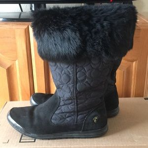 Coach Boots Size 7M